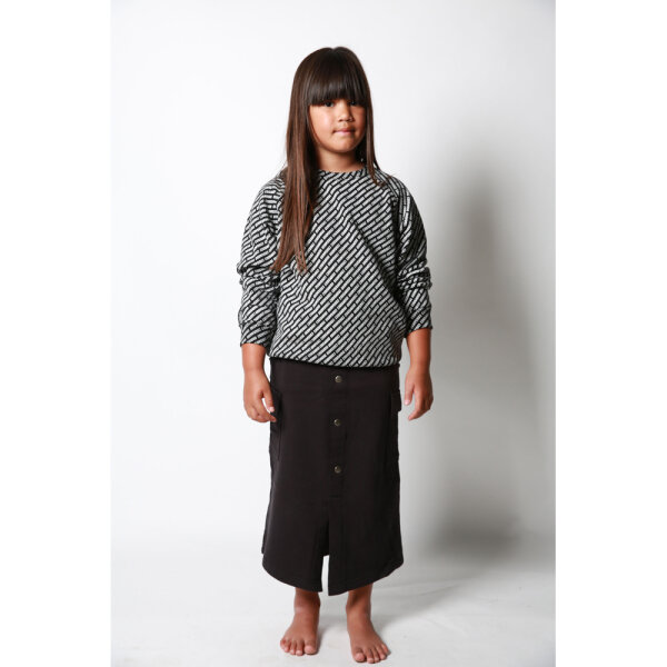 COS I SAID SO meisjes sweater COSISAIDSO zwart