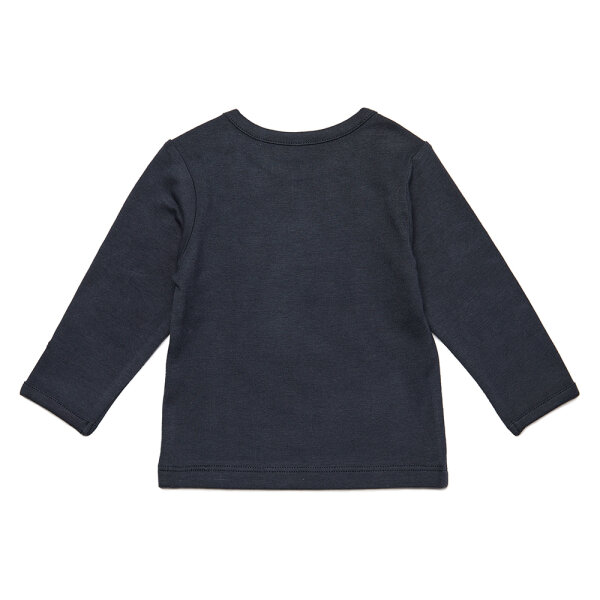 Noppies newborn basic shirtje Hester grijs