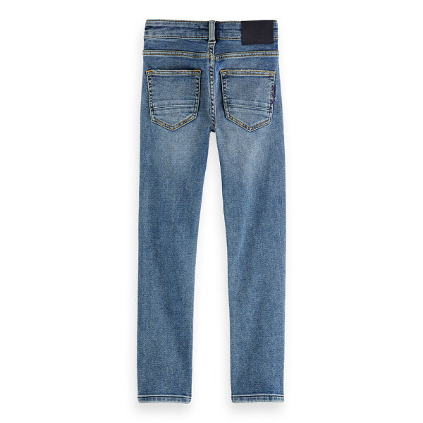 Scotch & Soda jongens jeans 160051 blauw