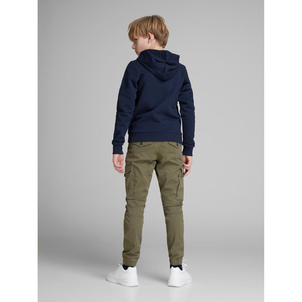 Jack & Jones jongens  cargo pants 12151639 leger groen