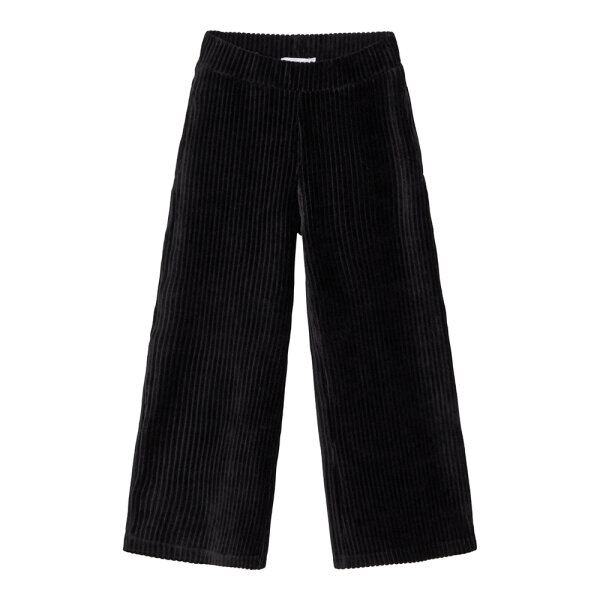Name It 7/8ste flared broek NKFRONYA/Black zwart