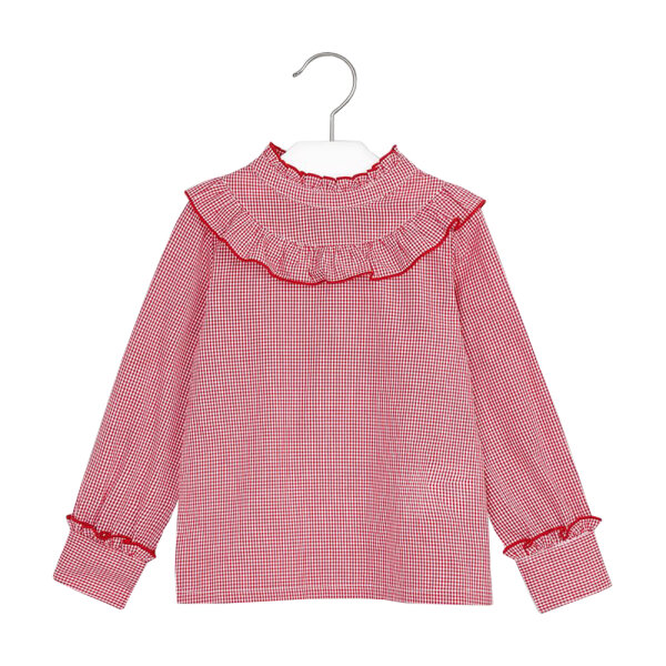 Mayoral meisjes blouse 4152 rood
