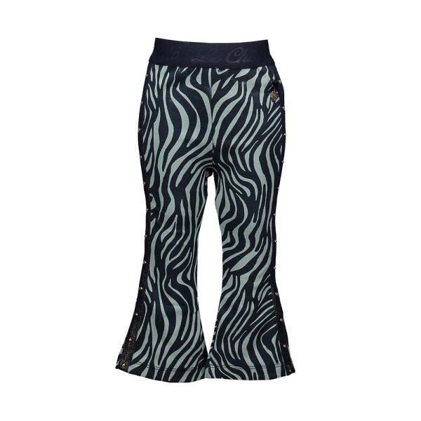 Le Chic flared pants C911-7632 groen