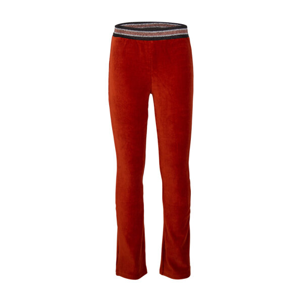 Indian Blue Jeans flared pants IBG22-2263 bruin