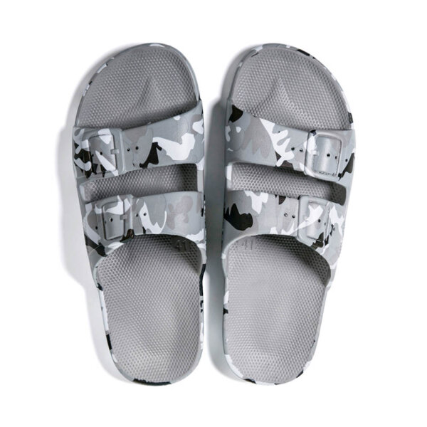Moses unisex slippers Army grijs