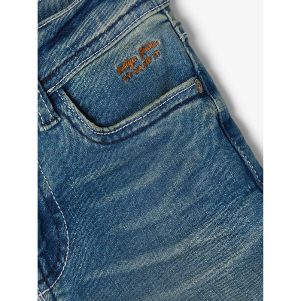 Name It jongens jeansshort 13190371/NKMTHEO blauw