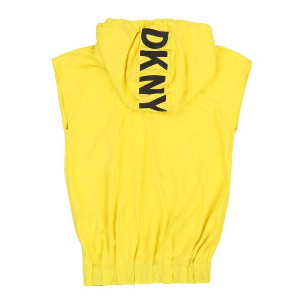 DKNY sweatdress D32709 geel