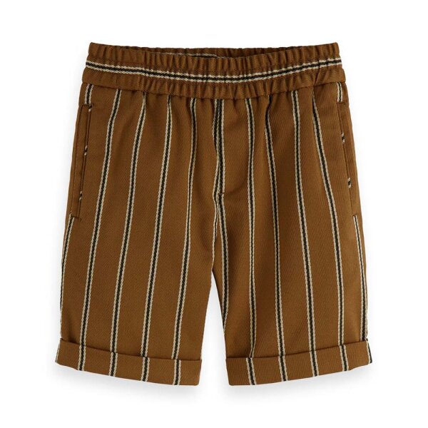 Scotch & Soda jongens short 154646 bruin